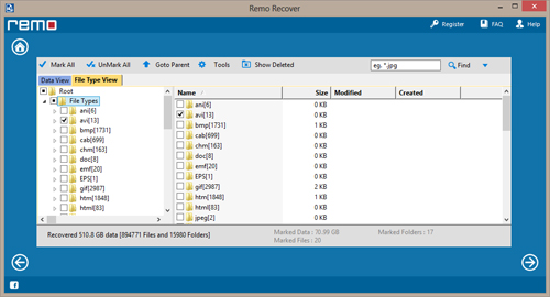 Recover Flash Drive - Preview Recovered Data