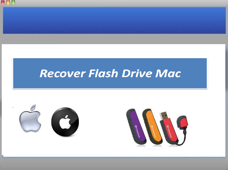 Software to recover lost flash drive files